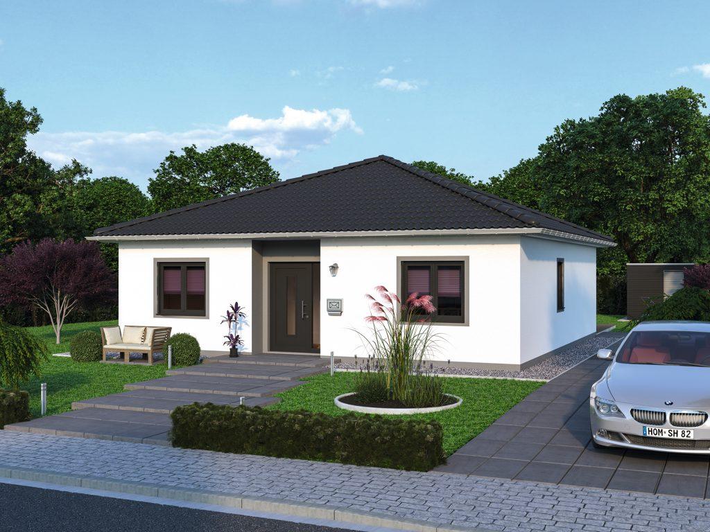 bungalow massivhaus spektral haus. Black Bedroom Furniture Sets. Home Design Ideas
