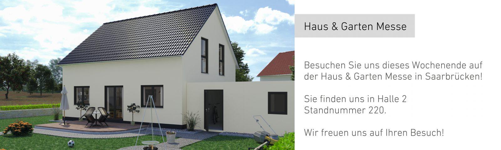 Haus & Garten Messe in Saarbrücken