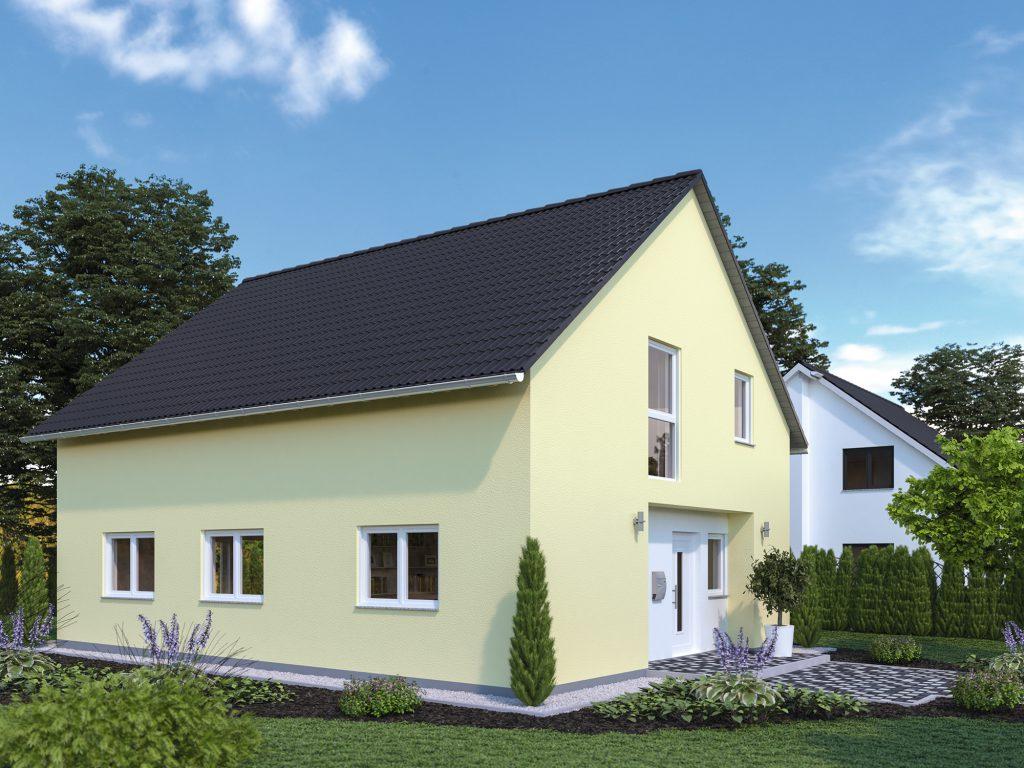 Massivhaus 1,5 geschossig Linea 150