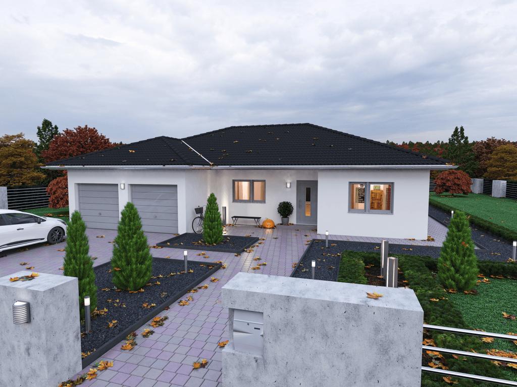 Bungalow Massivhaus Plana 150