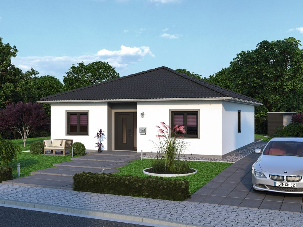 Bungalow Massivhaus Plana 83