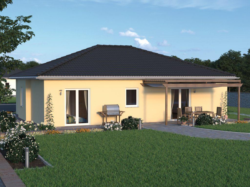 Bungalow Massivhaus Plana 95