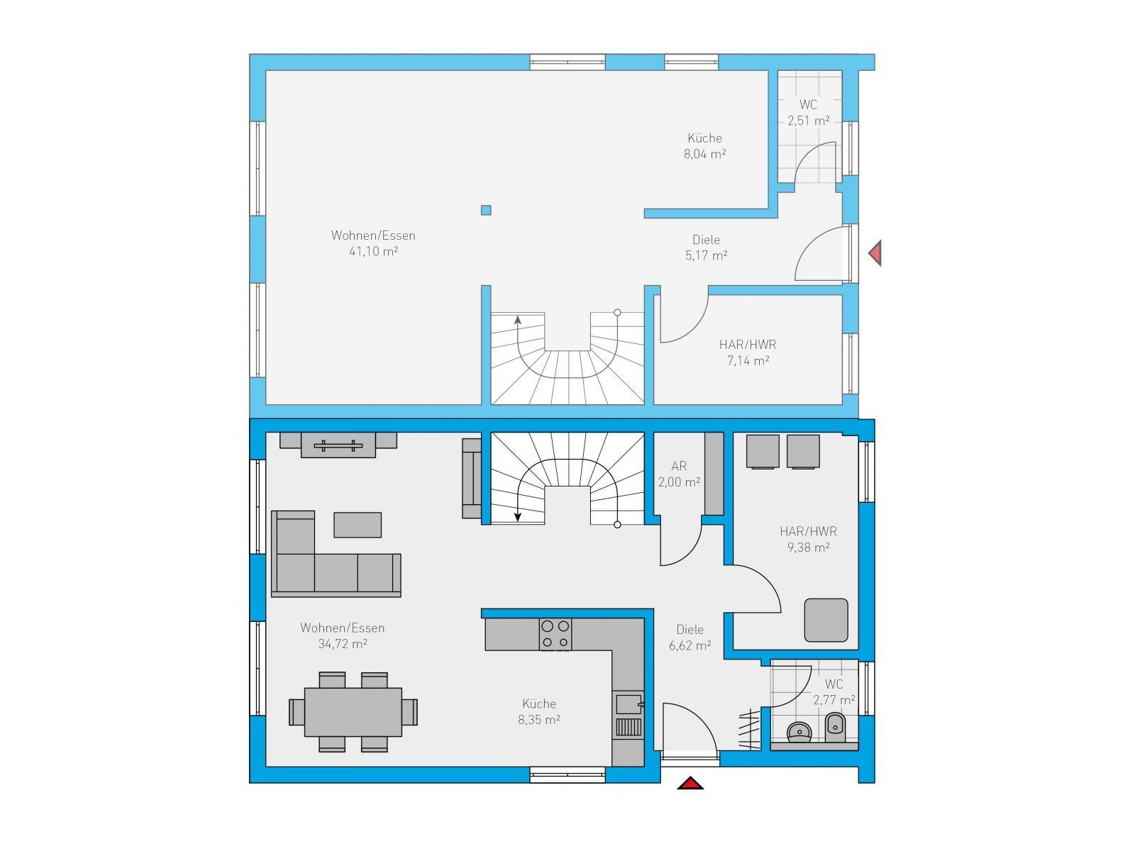 40 Duplex 124 EG