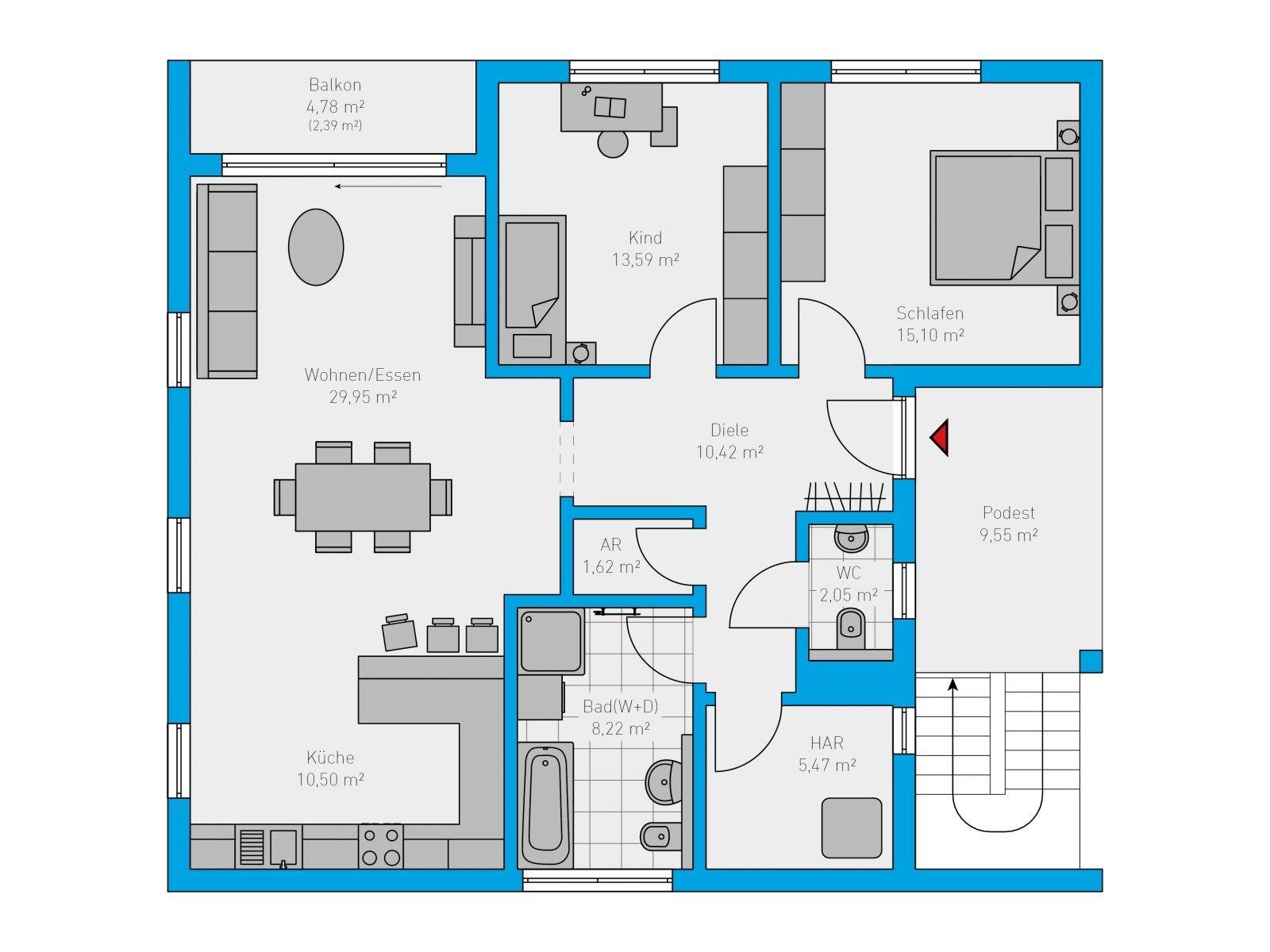 42 Duplex 208 OG