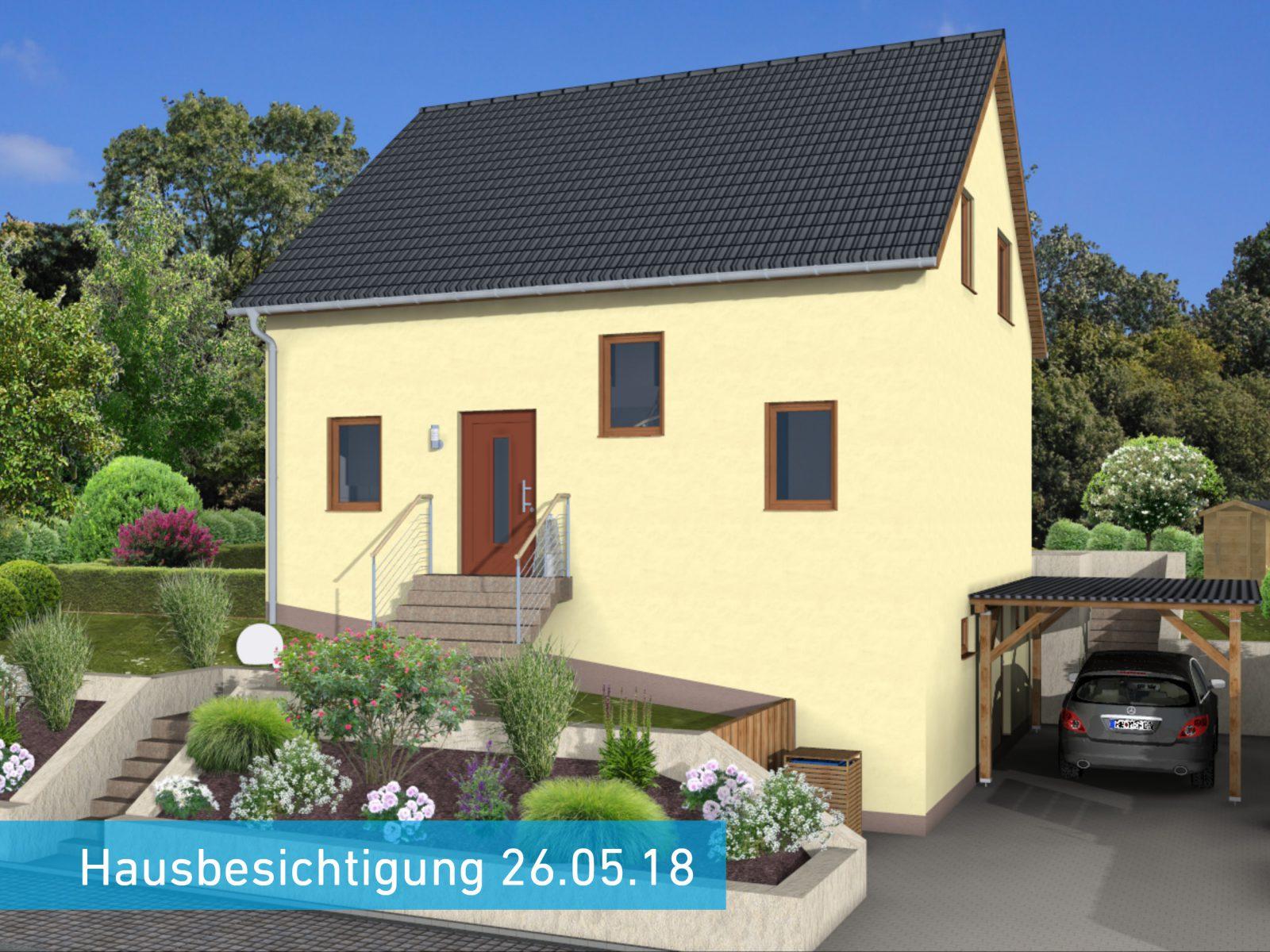 hausbesichtigung in wemmetsweiler individuell geplantes linea mit keller. Black Bedroom Furniture Sets. Home Design Ideas