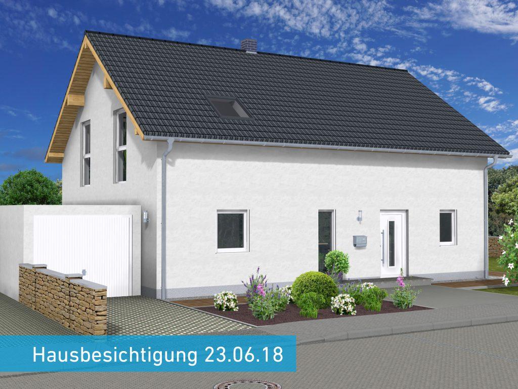 Hausbesichtigung Saarbrücken-Ensheim
