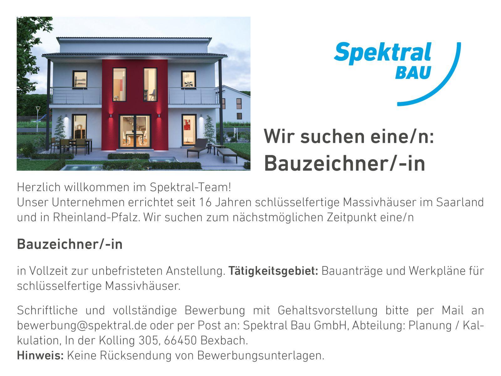 Stellenanzeige Bauzeichner/-in