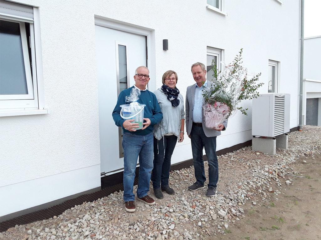 Hausübergabe in Freudenburg