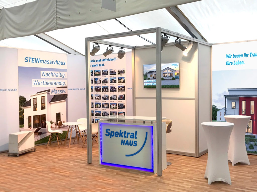 Messestand Baumesse 2018