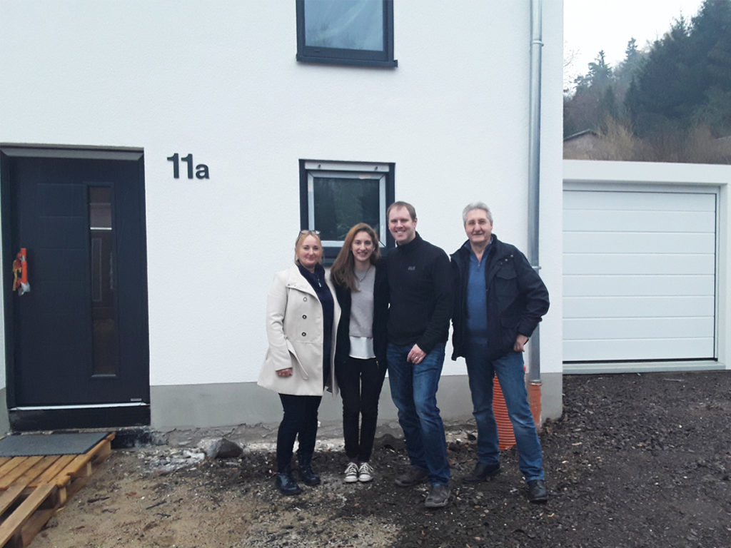 Hausübergabe in St. Ingbert-Sengscheid