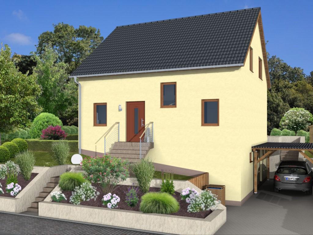 Hausübergabe in Wemmetsweiler