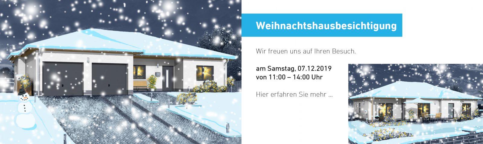 Weihnachtshausbesichtigung