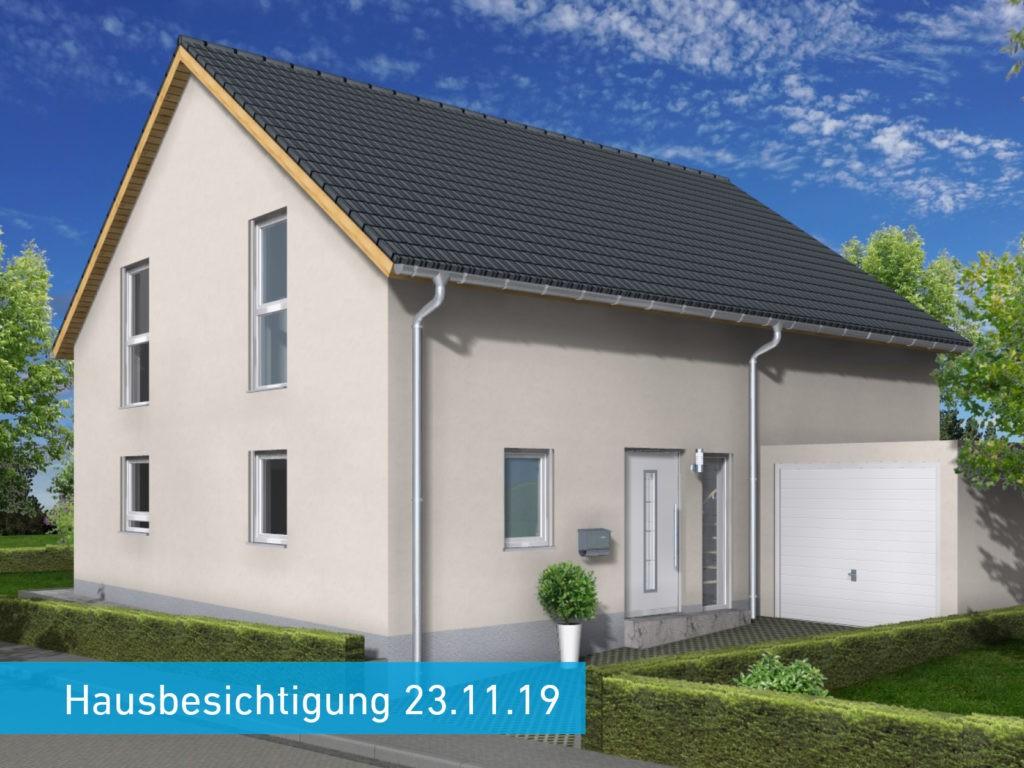 Hausbesichtigung in Friedrichsthal
