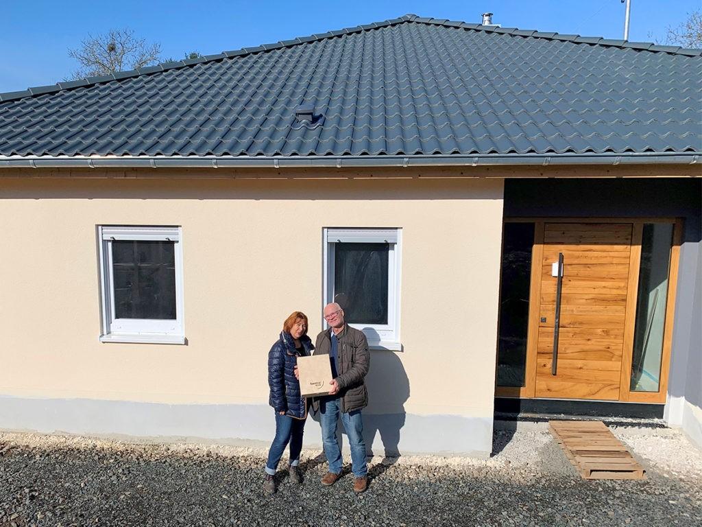Hausübergabe in Gersheim